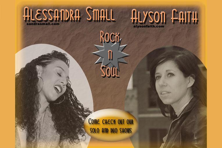 Alyson Faith and Alessandra Small